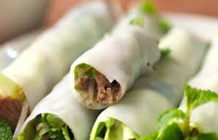 Bột gạo chính là nguyên liệu sử dụng trong làm phở