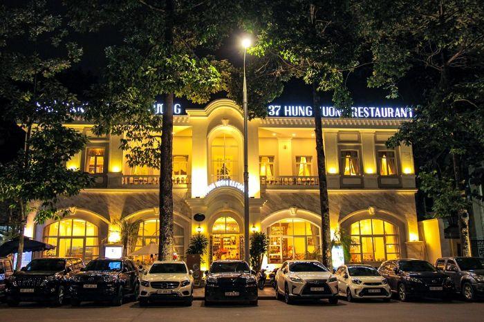 Nhà hàng 37A Hùng Vương nổi tiếng với các món truyền thống
