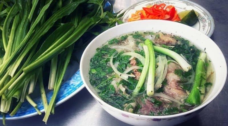 các món ăn dạng sợi của Việt Nam