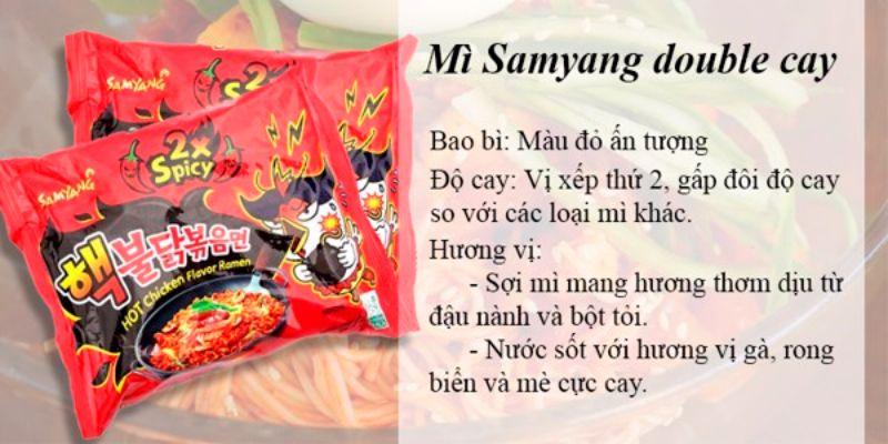 mì Samyang là gì